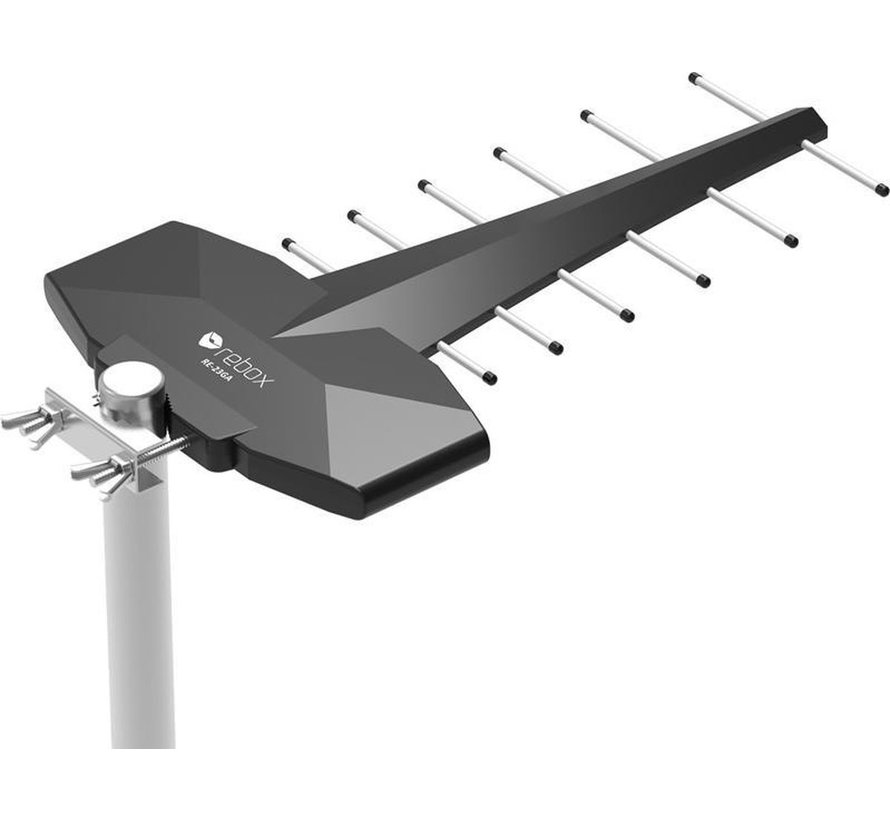 Rebox RE-23GA DVB-T2 Power Plus Buiten Antenne – 80km bereik