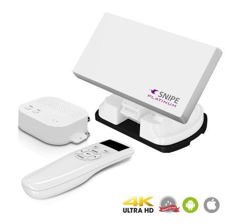 Selfsat Selfsat Snipe Platinum met Bluetooth / App afstandsbediening