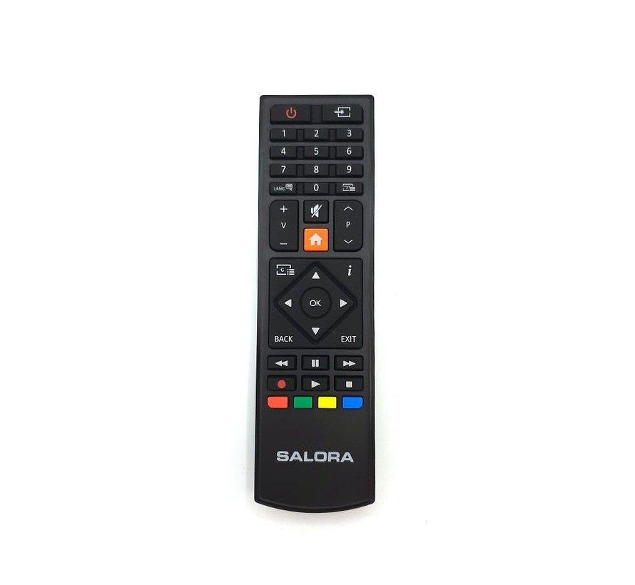 Salora afstandsbediening 9109 serie - oranje home knop