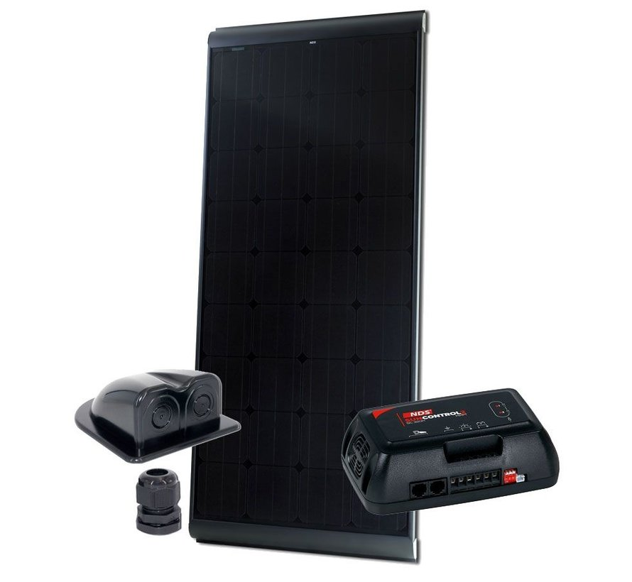 NDS BlackSolar 185W Zonnepaneel SET + SC320M