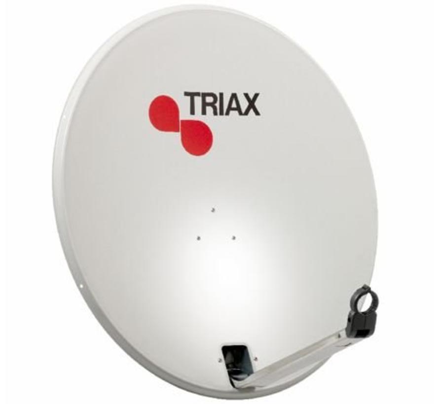 Triax TDS 110cm schotel kleur RAL 7035 lichtgrijs