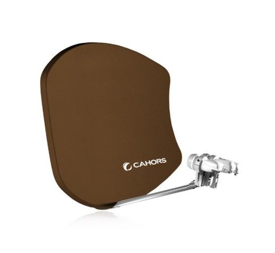 Cahors Visiosat Bi-satellite G2 kleur Bruin
