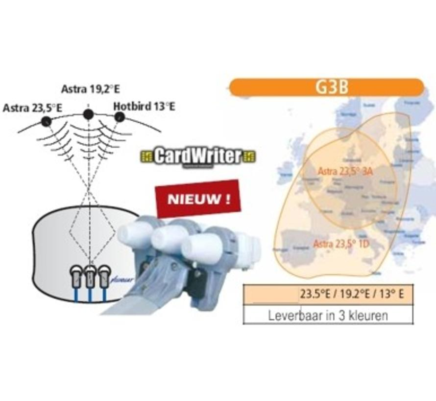 Cahors upgrade houder Astra 1-3 en Hotbird voor Bisatellite G2