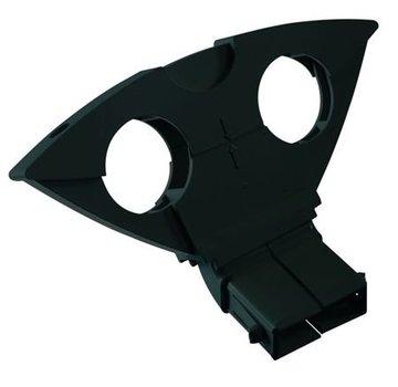 Triax Triax DUO houder Astra 1 en Hotbird kleur zwart