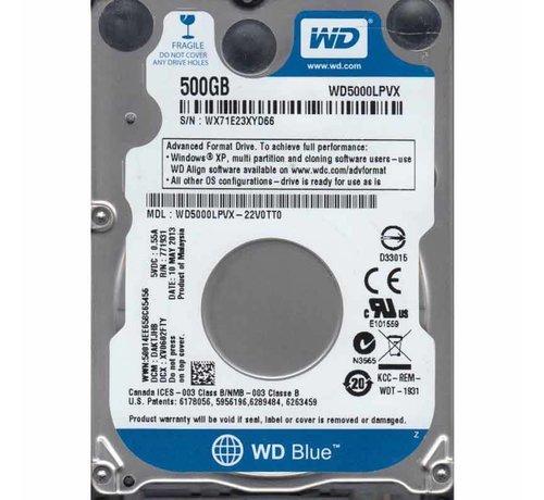 "SATA Harddisk 2.5"" 500GB"