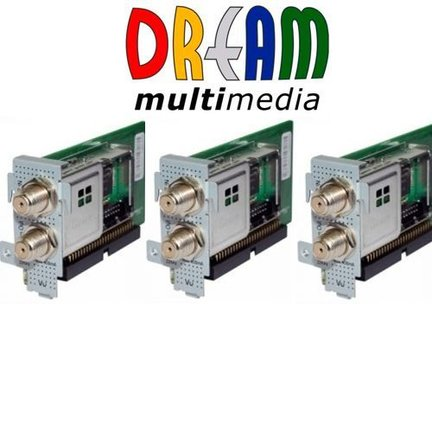 extra DVB tuners Dreambox
