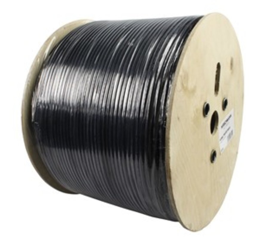 Hirschmann KOKA 799 Eca coaxkabel kleur zwart