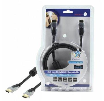 HDMI kabel HQ High Speed met ethernet 1,5 m