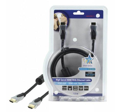 HDMI kabel Hoge kwaliteit High Speed met ethernet 1,5 m