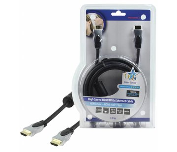 HDMI kabel HQ High Speed met ethernet 3.0 m