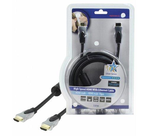 HDMI kabel Hoge kwaliteit High Speed met ethernet 3.0 m