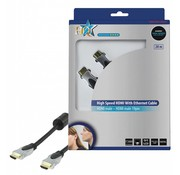 HDMI kabel HQ High Speed met ethernet 20.0 m