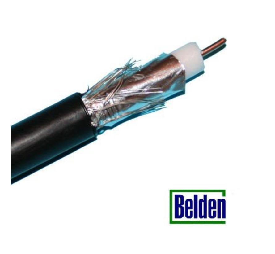 Belden Coaxkabel H126 DUOBOND kleur zwart