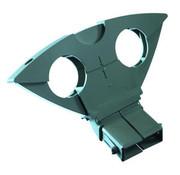 Triax Triax DUO houder Astra 1 en Hotbird kleur grijs