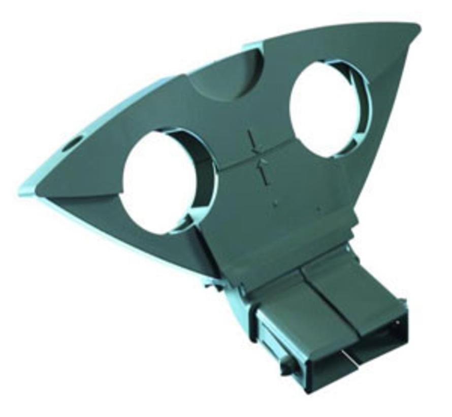 Triax DUO 6 graden houder Astra 1 en Hotbird kleur grijs