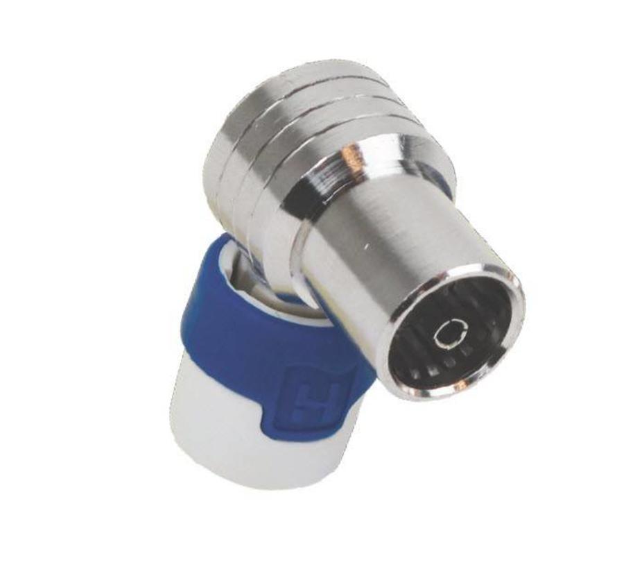 Hirschmann KOKWI 5 Push On IEC (Kabel Keur) female connector