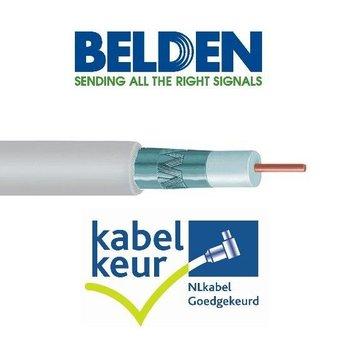 Belden Belden H125D00 coax DuoBond+ wit