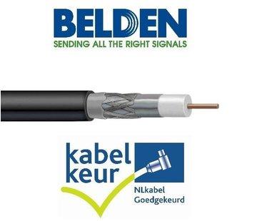 Belden Belden H125D00 coax DuoBond+ zwart