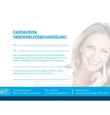 Cadeaubon WIT tandenbleekbehandeling