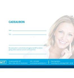 Cadeaubon WIT® mondhygiene behandeling