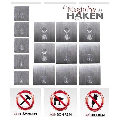 Magische Haken 14er Set Magische Haken silber 3991-SI