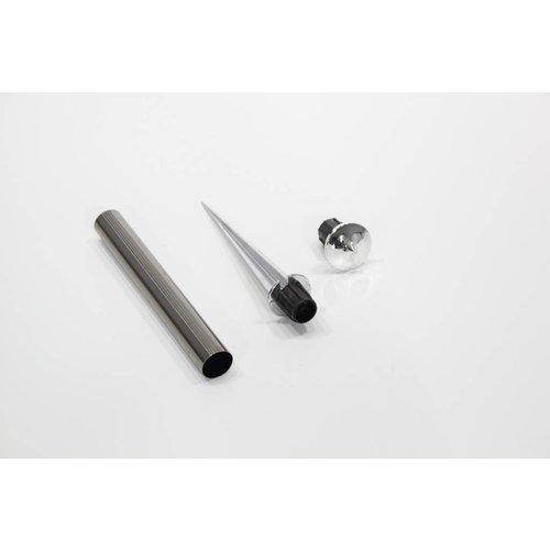 Solithia Solarleuchte mit Booster Halterung 37,5cm Black Pearl Nr.214