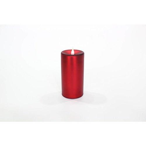 Flammenlose Kerze 3D-Flamme Timer 03419-RD