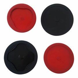 4er-Set Silikon Vakuumdeckel-04392