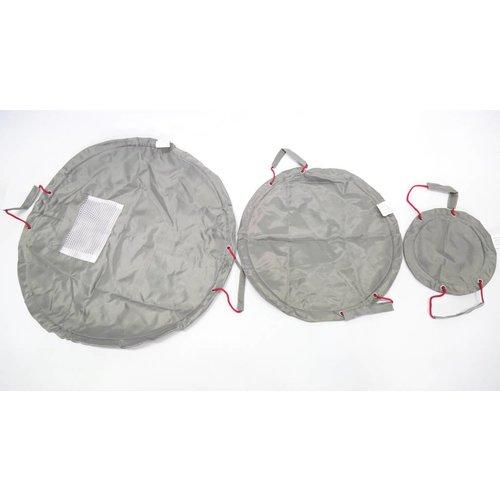 Solutions Solutions 3er-Set praktischer Beutel für Kleinteile 04920