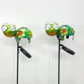 Solithia Solithia Solar-Schildkröte-Gartenstecker 2er- Set 03738