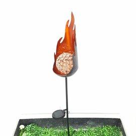 Solithia Solithia Solar-Flammenleuchte 04902-Gls