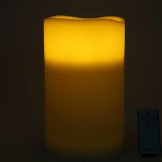 Elambia LED-beleuchtete Bodenkerze mit Fernbedienung (25 cm) - 04592