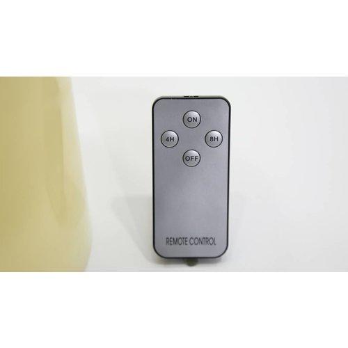LED-beleuchtete Bodenkerze mit Fernbedienung (25 cm) - 04592
