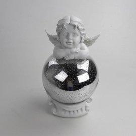 Solithia Solithia Solar-Engel mit Glitzerball 507170