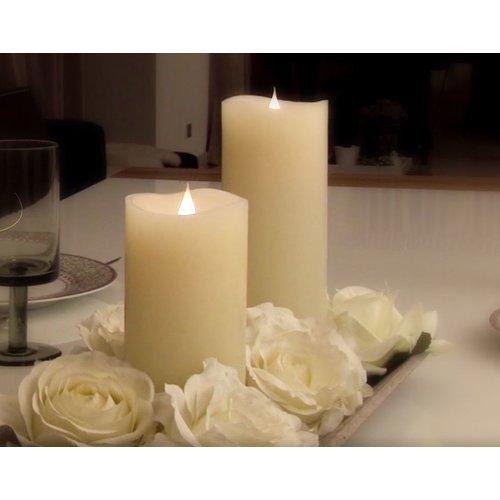 3D Kerze mit Flackereffekt 02588+03214