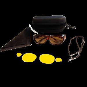 Sonnenüberbrille UV 400 Schutz+Wechselgläser 4375-LO