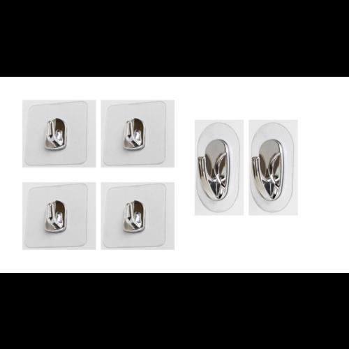 Magische Haken 6er-Set Magische Haken Metallic- 06410