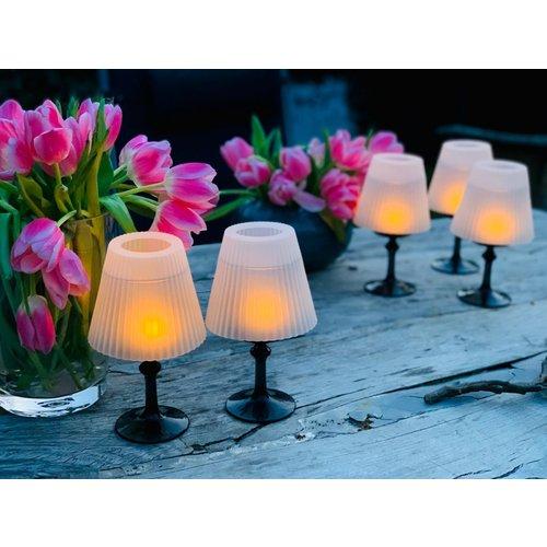 Solutions 5er-Set dekorative Lampenschirme aus Silikon  04618