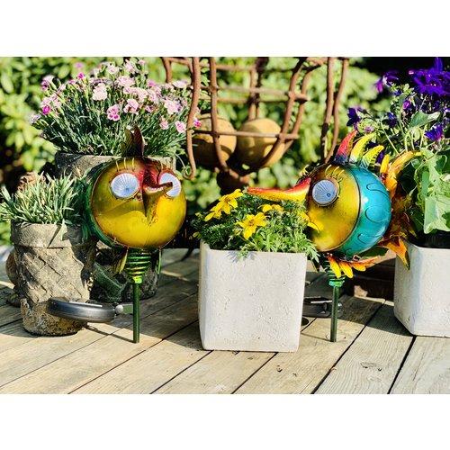 Solithia Solithia Solar-Fisch-Gartenstecker 2er- Set 03723