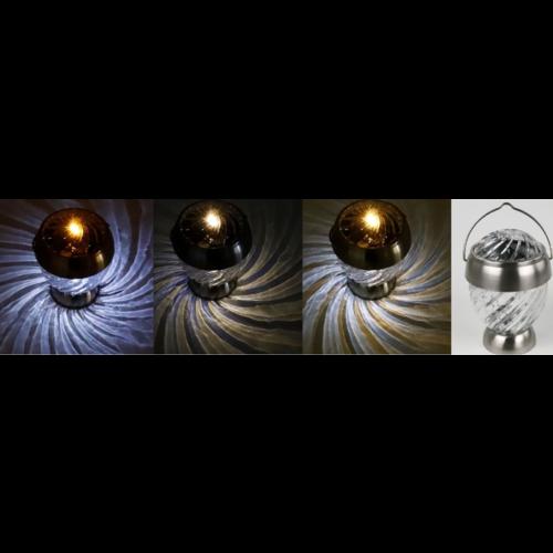 Solithia Solarleuchten 4er-Set Galaxy Milkyway weiß Midi- 07382