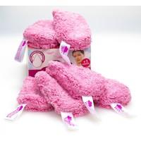 Abschminkwölkchen rosa 6er