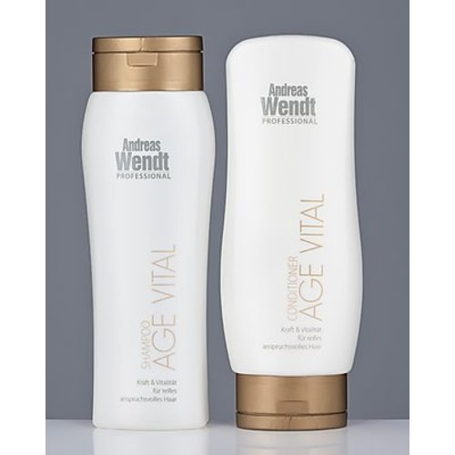 Andreas Wendt Professional AGE VITAL Shampoo & Conditioner Set