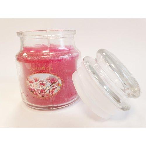 Scented Life  Magnolienblüte - Duftkerze im Glas 100 Gramm