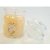 Vanille Duftkerze im Glas 100 Gramm