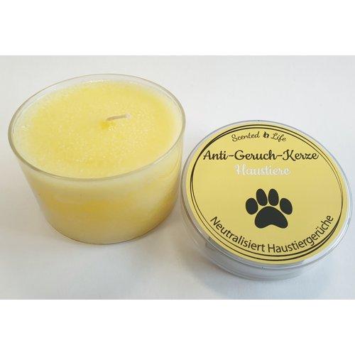 Scented Life Anti Haustier Geruch Kerzen  100 Gramm