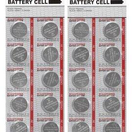 Solutions SOLUTIONS Knopfzellen Lithium-Batterien CR2032, 3V 20 Stück