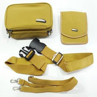 Travelon Travelon Hüfttasche mit Schultergurt & Brustbeutel - 00265-BG