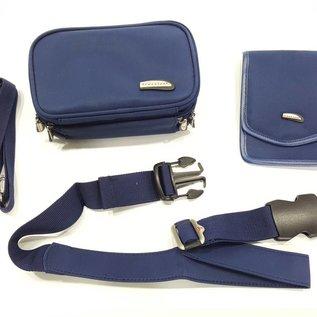 Travelon Travelon Hüfttasche mit Schultergurt & Brustbeutel - 00265-BE