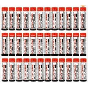 Solutions SOLUTIONS Battery Cell Alkaline-Batterie Typ AA, 1,5V 36 Stück