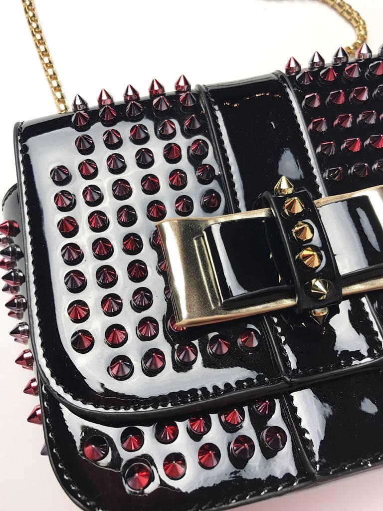Studded bag black